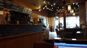 Caribou Coffee, where we spend a lot of our time